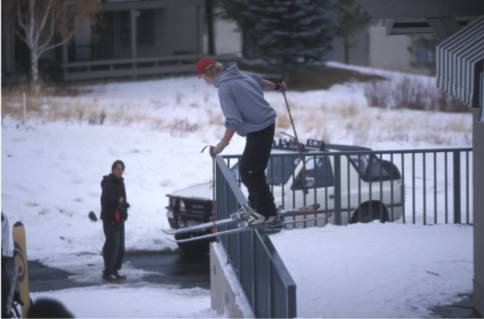 a rail slide...and no i won't put it in rails cuz who goes into that section?