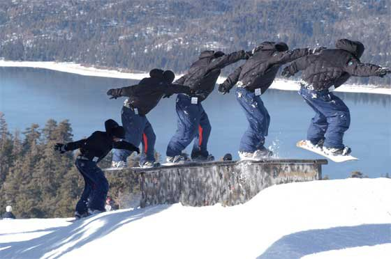 Snowboard Sequence