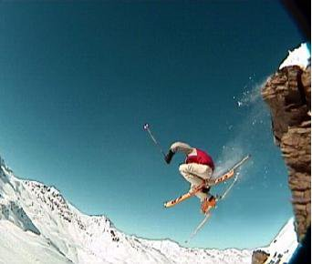 Liu Kang over cliff