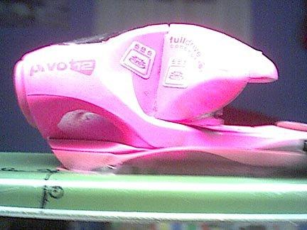 pink bindings