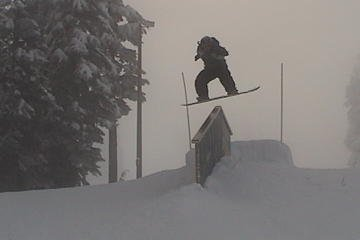 Little bro boarder, going big!