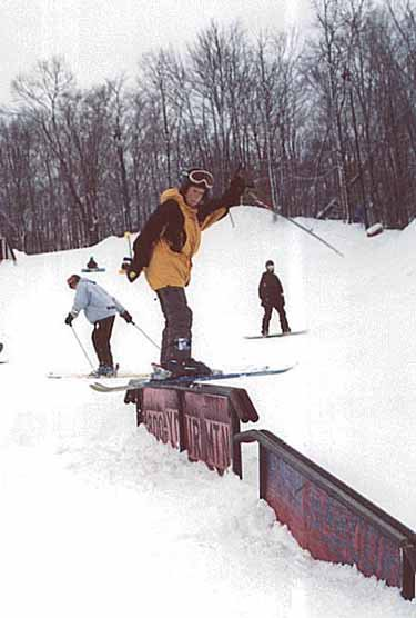 Jim on the rail combo