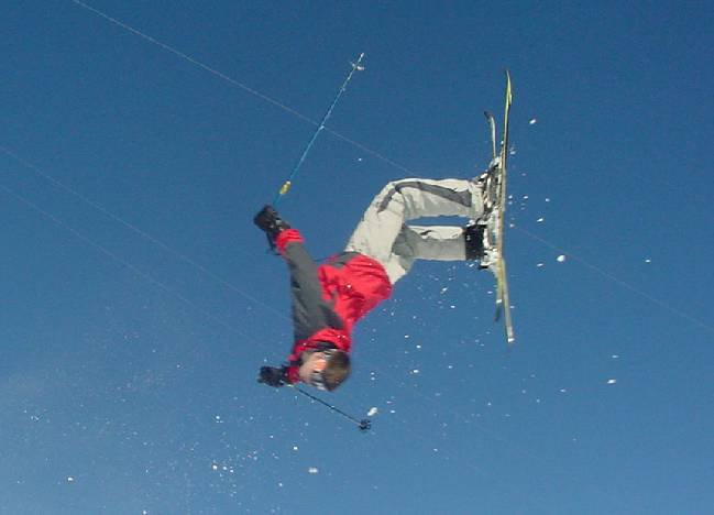 First backflip of the year
