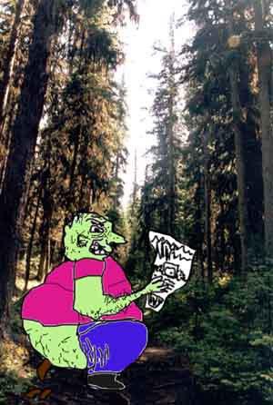 pooin in the path(photoshopwar)