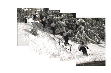 *SEQUENCE* 40 ft handrail