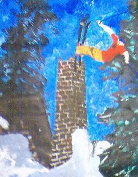 Chimmny jib I painted