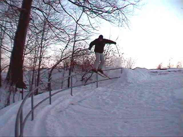 sick urban 30ft C rail
