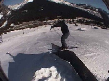 chris while the down kink was still up