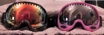 Proof that my goggles are the COOLEST, the pink ones i mean