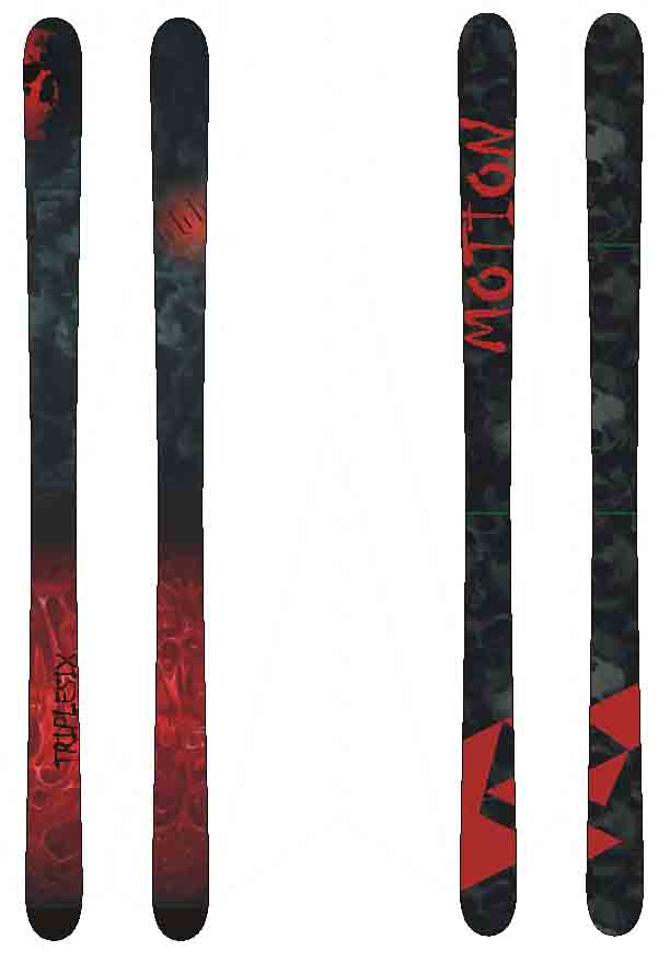 ski graphic - triplesix