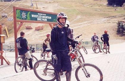 Mtn. Biking @Whistler In August