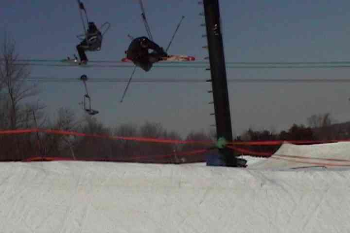 Air in the badlands superpipe