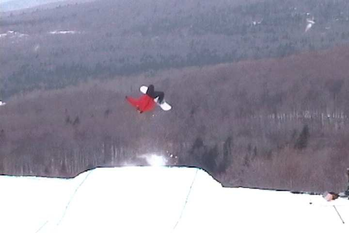 super laid out backflip