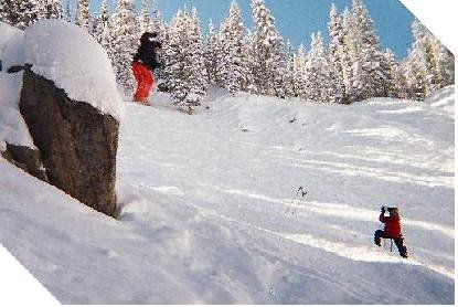 Big air, tons of powder, cant wait to go back.....