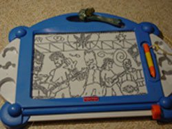 my friend tracey is wicked good with a magna doodle