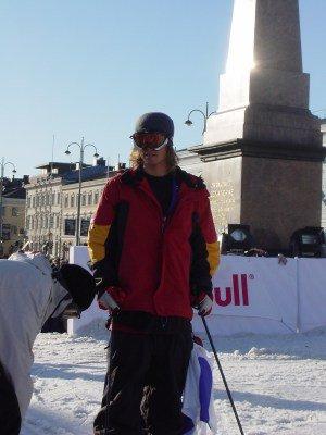 Jon Olsson in Finland, Red bull city flight 2003