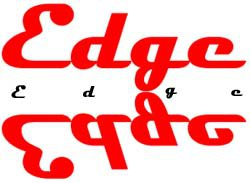 Edge (my fake ski company)