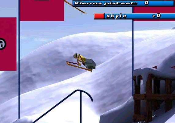 look ma no skis