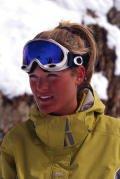 Hot ski chick