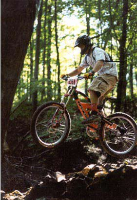 log jump at an MMBA race