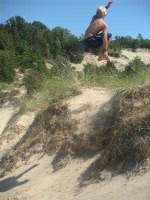 360 Saftey off a Dune