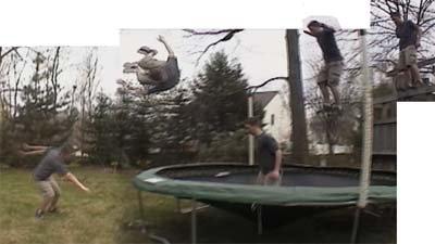 Misty 5 off trampoline