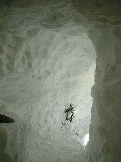 HUGE Snow Caves are Cool!