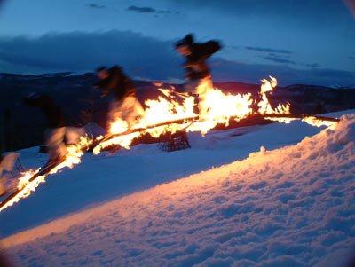 Flaming Rainbow Log-BC Post Season Sequence