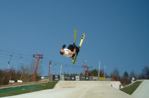 Joe Hague - Switch Backflip