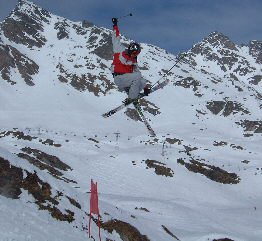 This is me, top Red jump in the Verbier park, nothing special, just big air grab
