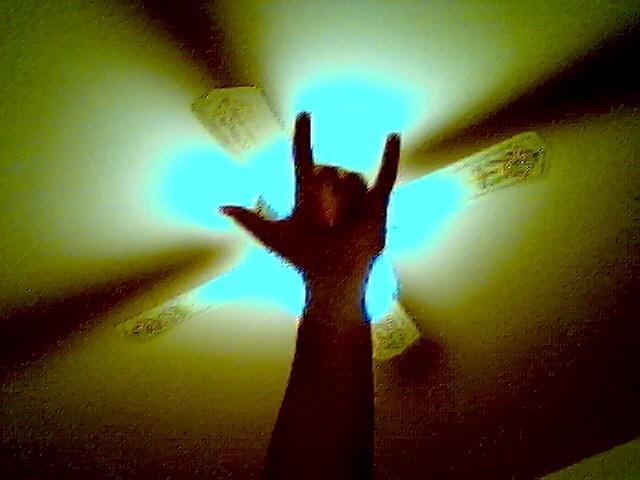 my punk-rock-ska-core  hand