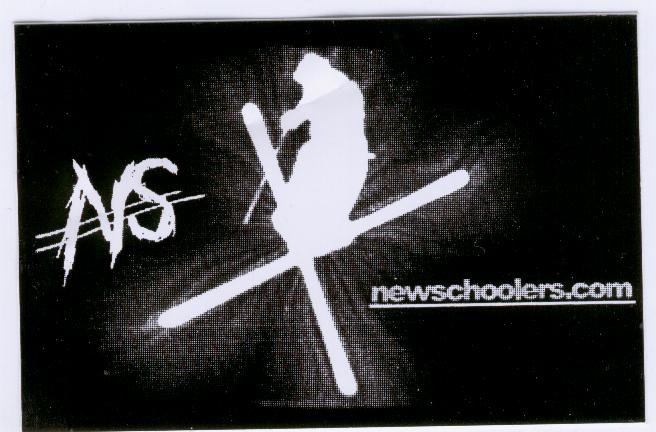 the sick old school NS sticker