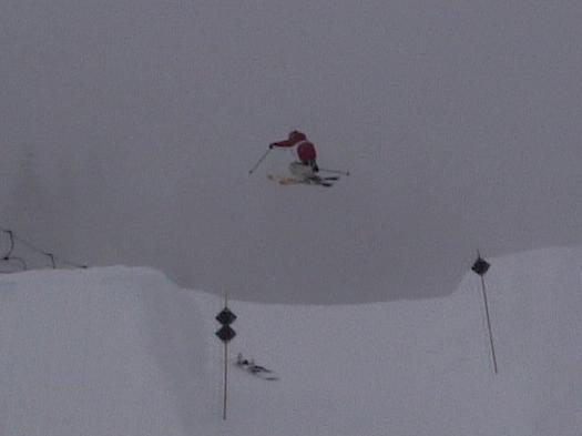 180 transfer at Whistler