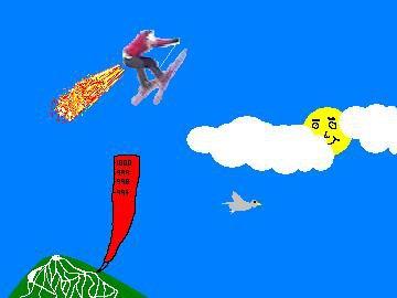 it a bird....no  it a plane...no it SUPERMAN.... NNNNNNNNOOOO      it just me