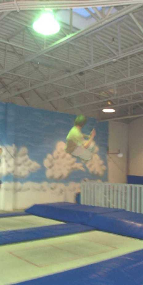 Airborne Trampoline, Tuesday Session_a