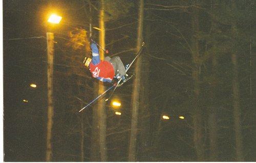 cork 900 reverse tail at a big air