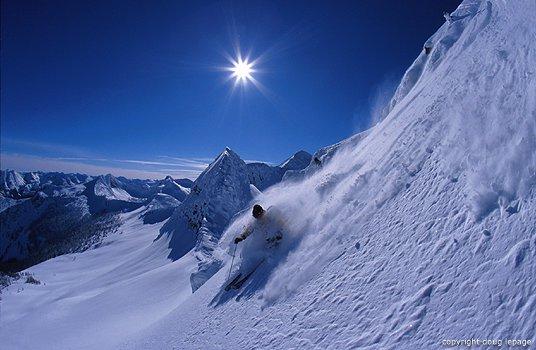 My home ski hil