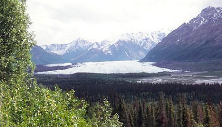 Matenuska Glacier picture I took at Sixth Grade Camp