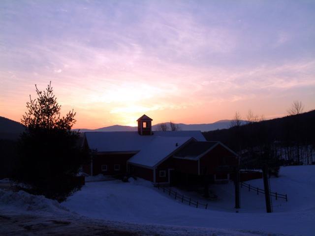 Stowe Sunset