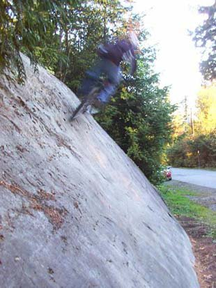 Wallride/rockride thing.