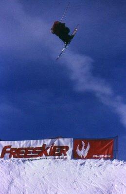 Cork 3 safety, Freeskier jibfest hip, Copper mtn CO