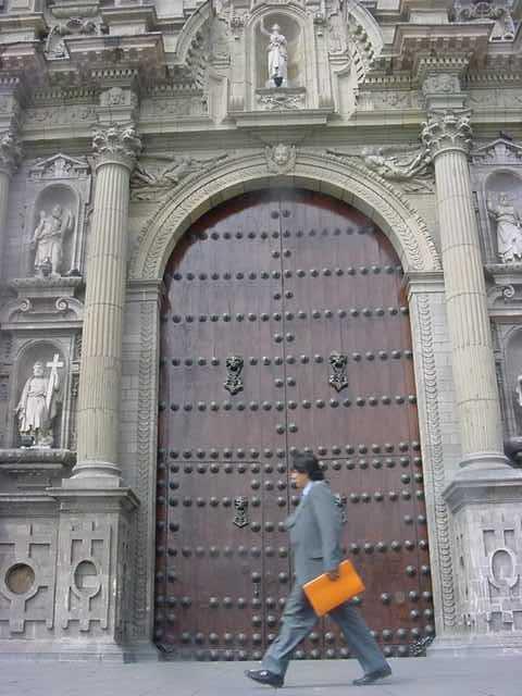 Cathedral Door - Peru