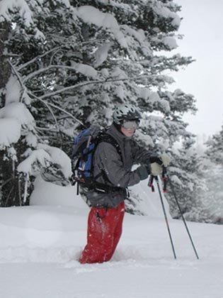 Chillin in the snow