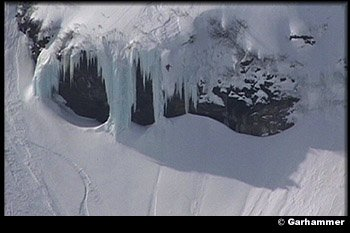 big iced-out cliff