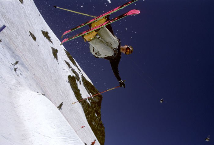 Clausen in the spring pipe