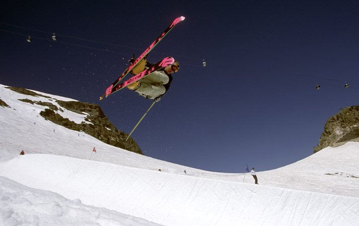 Clausen in the spring pipe 2
