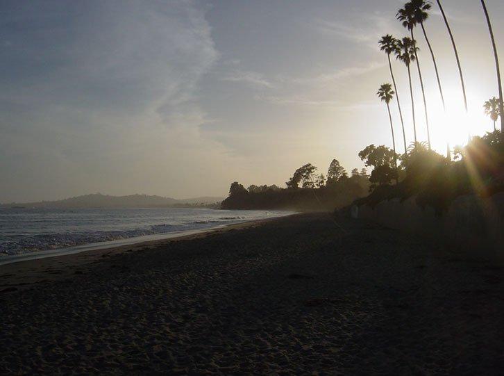santa barbara sunset 2