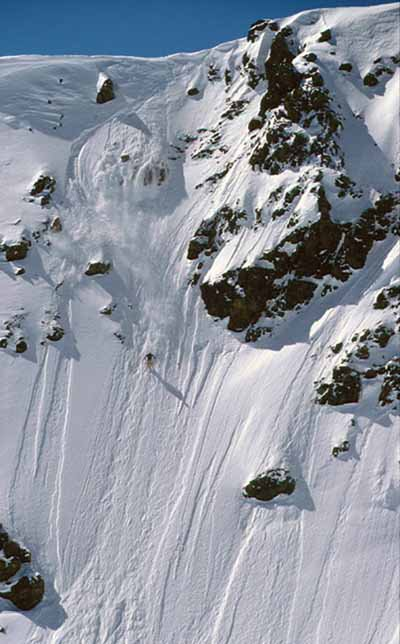 Find the steeps and ski hard!!!