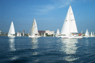 Wednesday Night sail racing