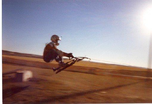 dirt GT jump, ATV tow-in